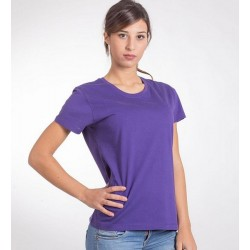 10499 AW - T-shirt STAR WORLD donna 165 gr