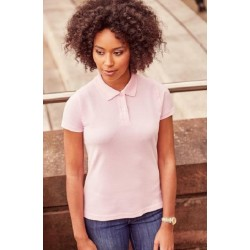 1221 AW - Polo RUSSELL donna piquet manica corta 200 gr