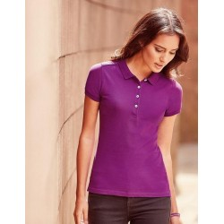 1222 AW - Polo RUSSELL donna manica corta 210 gr