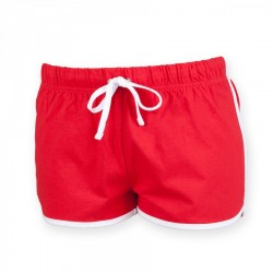 13152 AW SKSK069 Ladies Retro Shorts