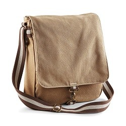 1364 AW - Borsa Vintage Canvas Messenger