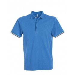 13804 JR - Polo manica corta in jersey 180 gr