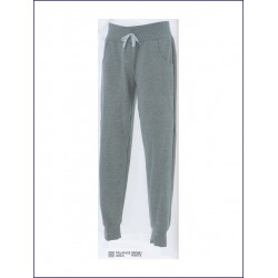 1424 JR - Pantaloni in felpa 80% cotone 20% polyester made in Italy French Terry