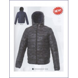 1458 JR - Giubbino reversibile in nylon 20D morbido e lucido