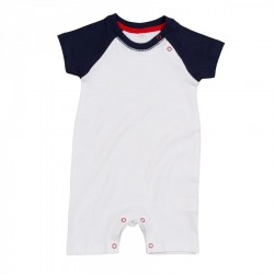 2556 AW mabz41 Baby Baseball Playsuit