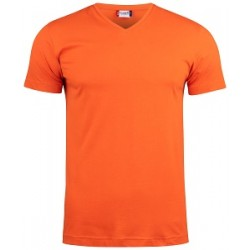 17958 CL - Basic-T V-neck  T-shirt collo v manica corta 145 gr