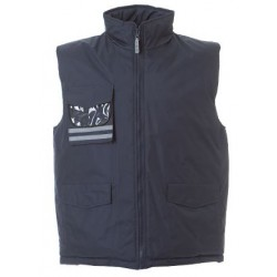 17963 JR - Gilet in polyestere pongee XS NAVY