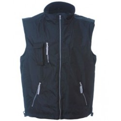 27962 JR - Gilet in polyester pongee XS,4XL NAVY