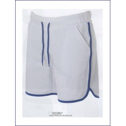 1543 JR - Pantaloncini in felpa leggera 100% cotone french terry 200 gr