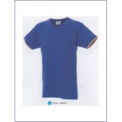 1620 JR - T-shirt manica corta collo v 100% cotone 150 gr