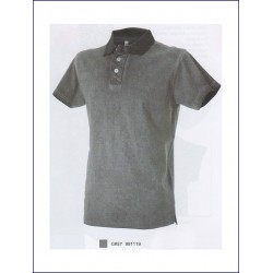 1575 JR - Polo jersey manica corta cool dyed 200 gr
