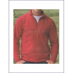 1856 AW - Pile RUSSELL con zip corta 190 gr