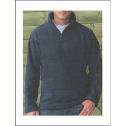 1857 AW - Pile RUSSELL con zip corta 320 gr
