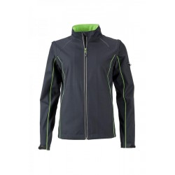 1881 AW - Ladies' Zip-Off Softshell Jacket