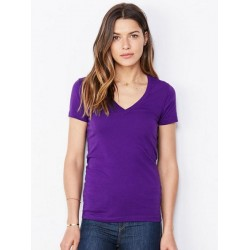 2360 AW - T-shirt BELLA+CANVAS donna collo a V 145 gr