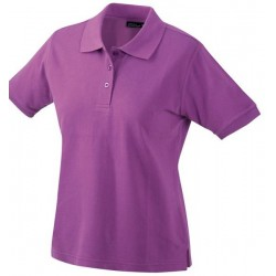 2370 AW - Polo JAMES & NICHOLSON donna manica corta 195 gr