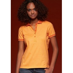 2379 AW - Polo JAMES & NICHOLSON donna manica corta 170 gr