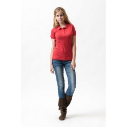 7199 LI - Polo piquet donna colorata maniche corte