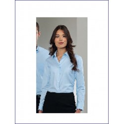 0167 RE - Camicia manica lunga Oxford donna