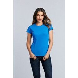 17788 IN - Gildan donna colorata Soft Style t-shirt girocollo manica corta 100% cotone