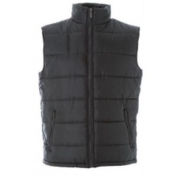 1487 JR - Gilet in nylon lucido impermeabile