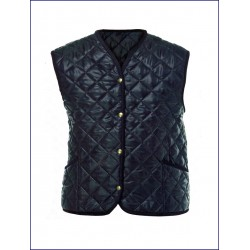 0181 MC - Gilet Trapuntato collo a v