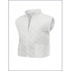 0182 MC - Gilet Trapuntato collo coreana