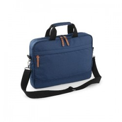 18573 AW - Tracolla Campus Laptop Brief 100% poliestere 600d