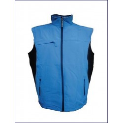 0321 JR - Gilet in soft shell impermeabile e traspirante