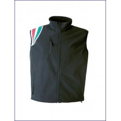 0328 JR - Gilet in soft shell impermeabile e traspirante