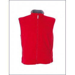 0371 JR - Gilet in pile antipilling zip lunga 280 gr