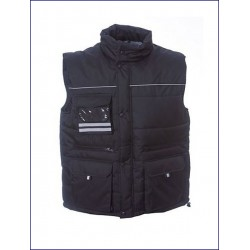 0387 JR - Gilet in nylon pongee impermeabile