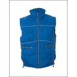 0388 JR - Gilet in polyester pongee impermeabilizzato