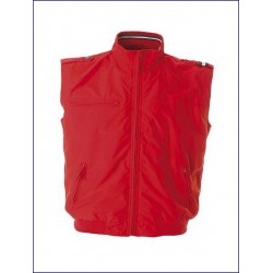 0412 JR - Gilet in 100% polyamide/nylon taslon