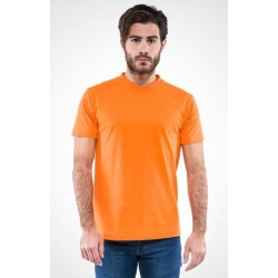 0809 MD - T-Shirt collo v 150 gr colorata