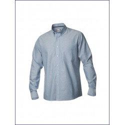 1012 CL - Camicia manica lunga taschino e colletto button-down 130 gr