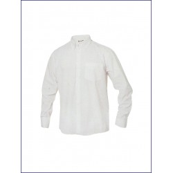 1019 CL - Camicia manica lunga con taschino e colletto button-down, polsini regolabili 152 gr