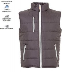 10391JR - Gilet in nylon lucido impermeabile